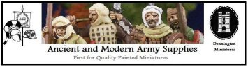 Ancient & Modern Army Supplies - click for details of their entrant's offer..